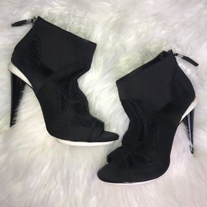 GX Gwen Stefani Sporty Heeled Booties